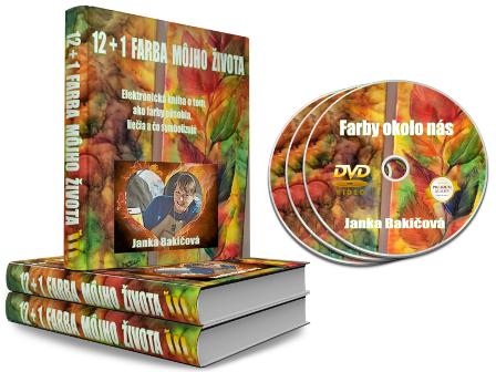 E-book: 12+1 FARBA MÔJHO ŽIVOTA